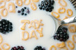 Tax Day Cereal Letters