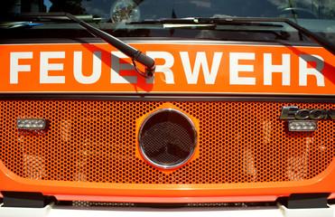 Feuerwehrauto Frontseite