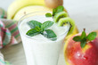 sweet fruit smoothie
