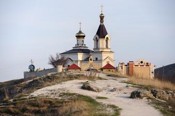 Church in Old Orhei, Moldova
