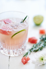 Refresh yourself with this delicious watermelon cocktail