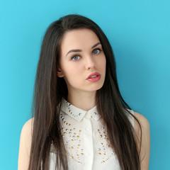 Beautiful girl with cute face