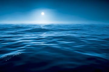 dark blue ocean