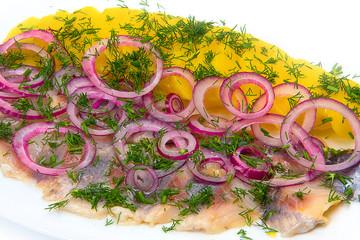 typical Dutch herring