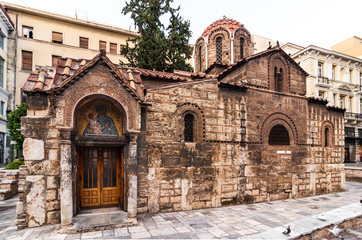 Church Panaghia Kapnikarea, Athens