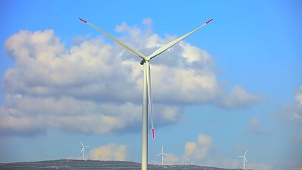 windmills for renewable electric energy production 014