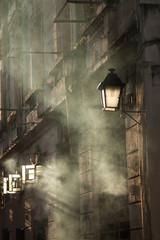 smoky street
