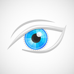 Eyes icon hi-tech