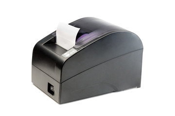 Modern printer checks for Point Of Sales systems.