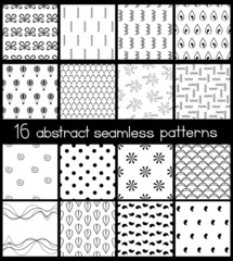 Black And White Simple Patterns