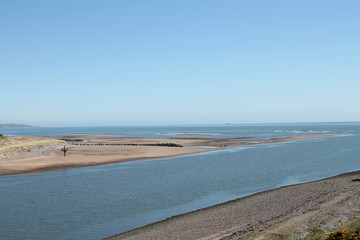 Mouth of River South Esk Montrose Scotland