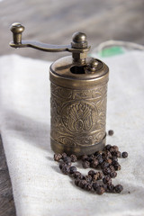 Old Pepper grinder mill