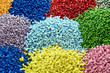 plastic polymer granules - 64593165