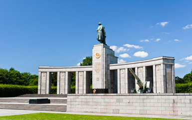 Soviet World War 2 memorial in Berlin