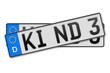 Auto Kennzeichen Kind