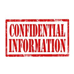 Confidential Information-stamp