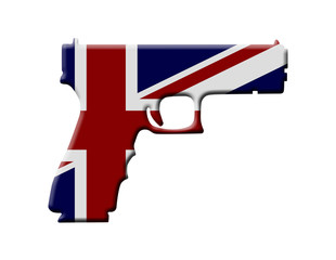 Handgun weapon laws in England