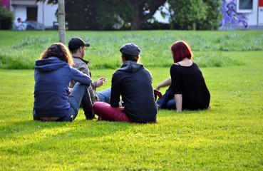 Teenager im Park
