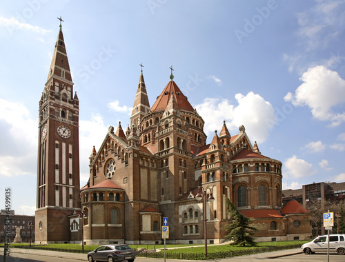 Papiers peints Europe de l Est Votive church in Szeged. Hungary