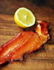 Fillet of rainbow trout