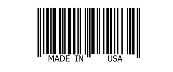 Made in USA on barcode