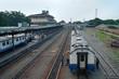 Railway Station in Medan, Indonesia.