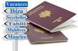 passeport pour les vacances