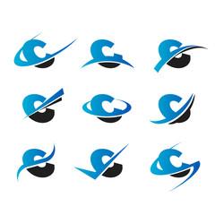 Alphabet C Icons