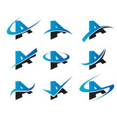 Alphabet A Icons