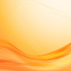 Solar wave abstract background template