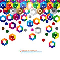 Polygon vector design