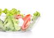 Close-up healthy food - green salat