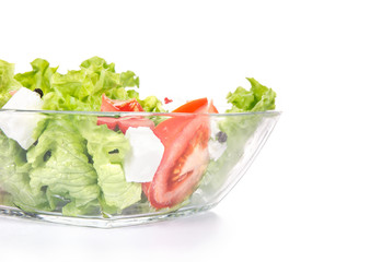 Close-up healthy food - green salat
