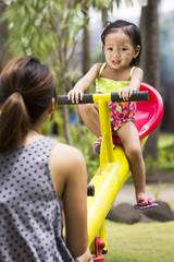 Little Girl At The Park