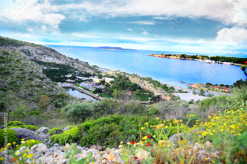 Vouliagmeni area Athens Greece