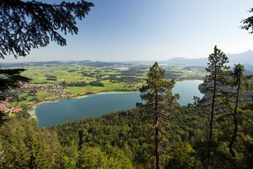 Weissensee, Dreiseenblick