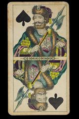 Spielkarte_Alt_handbemalt_Bube