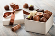 Leinwandbild Motiv chocolates
