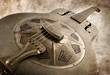 vintage blues guitar