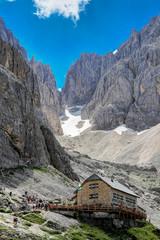 Langkofelhütte/Rifugio Vicenza al Sassolungo