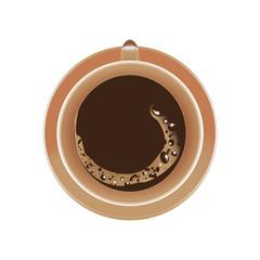 Чашка кофе(кнопка выключения)