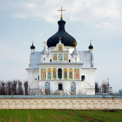 The Church of Saints Boris and Gleb in Mogilev, Belarus