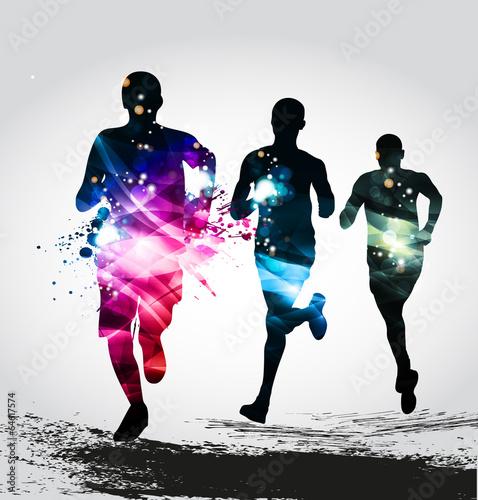 Zdjęcia na płótnie, fototapety, obrazy : Running, Marathon