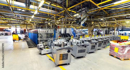 Staande foto Industrial geb. modernes Industrieunternehmen // High Tech Fabrication