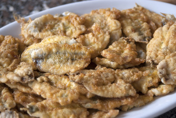anchovies flapjack
