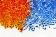 plastic polymer granules - 64618999