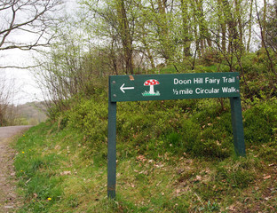 Sign, Fairy Hill, Aberfoyle