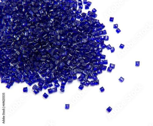 plastic polymer granules - 64620335
