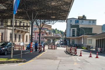 Frontiera Svizzera Italia, controllo di confine, Chiasso Como