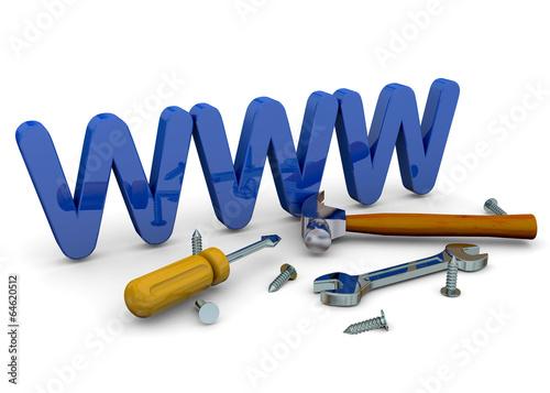 Website Under Construction - 3D